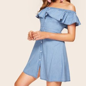 New SHEIN Denim Dress